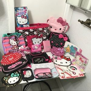 Lot of 25 Hello Kitty collectible items